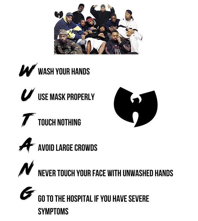 words to live by #wutangforever #theshowmustgoon #responsibly
